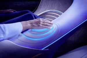 Console biometrica Mercedes Vision AVTR