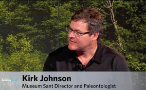 Kirk Johnson direttore National Museum of Natural History