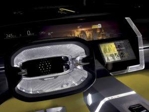 Renault Morphoz schermo volante