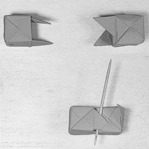 Assemblaggio due cubi a 5 facce
