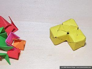 Forma irregolare con tre cubi