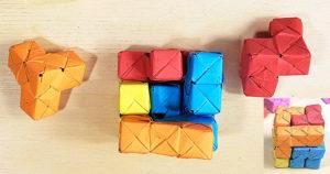 Scomposizione livello 2 e 3 di un cubo SOMA