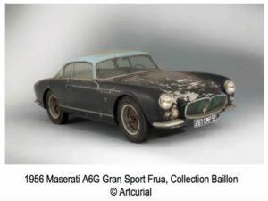 Maserati A6G Gran Sports 1956 di Frua