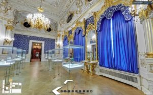 Interno Museo Fabergé VR