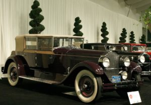 Packard Model Convertible Sedan del 1927 AAU