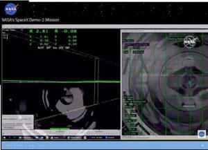 Allineamento Crew Dragon con ISS