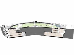 Sezione sviluppo Cavendish Square