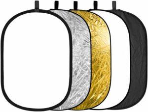 Riflettori ovale portatile
