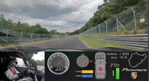 Record Panamera 2021 Nürburgring