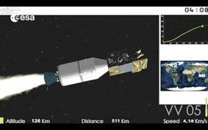 Momento lancio Vega 2/3 settembre 2020