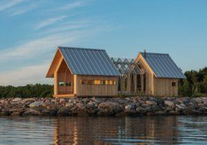 Anna Cottage in legno