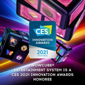 WOWCube CES Innovation Award 2021