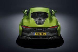 McLaren Artura design aerodinamico