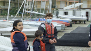 Componenti equipaggio scuola vela