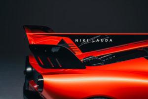 Nome Niki Lauda su alettone T.50s