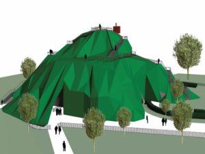 Serpentine Pavilion 2004 studio MVRDV