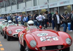 Griglia rossa nel Gran Premio Storico di Monaco