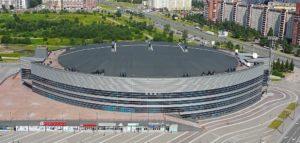 Vecchio stadio del ghiaccio di San Pietroburgo inaugurato 1999