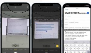 Livetext riconoscimento testo nelle foto