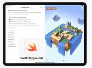 Swift Playgrounds su iPad