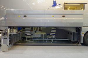 Piattaforma garage con mobili giardini Volkner Performance S