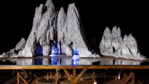 La montagna di Leonardo del Codice Arundel