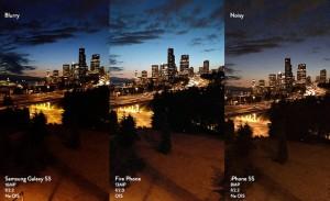 Paragoni fra Fire Amazon Samsung e iPhone