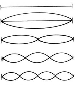 Configurazioni possibili di corde vibranti