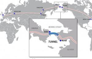 Tunnel ferroviario Bering