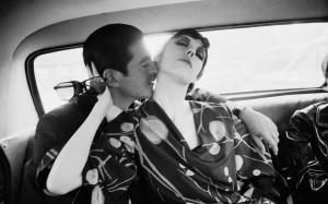 Irving Blum e Peggy Moffitt