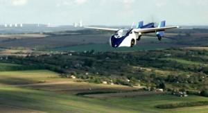 L'aeromobil in volo