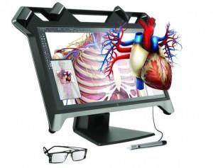 HP schermo per l'interazione tridimensionale