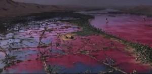 La piaga dell'acqua trasformata in sangue