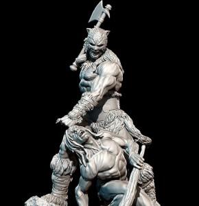 Statua Fire and Ice di Alejandro Pereira
