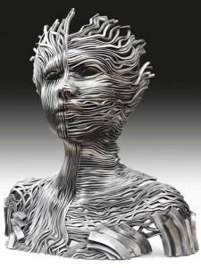 Scultura Dichotomy di Gil Bruvel