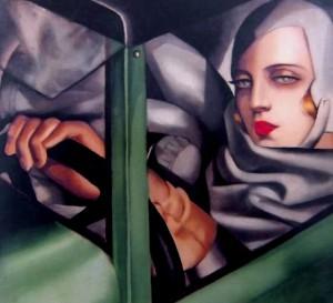Autoritratto di di Tamara de Lempicka