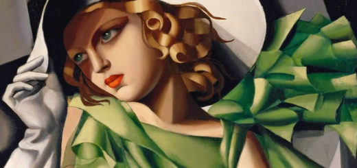 Donna in verde di Tamara de Lempicka