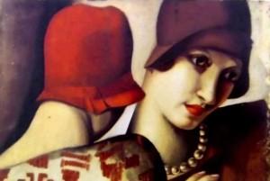 Les deux amies di Tamara de Lempicka