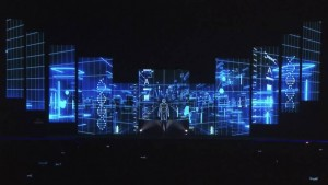 MRM Award projection mapping