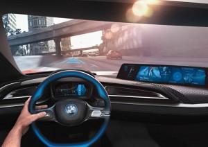 BMW iVision display da 21 pollici
