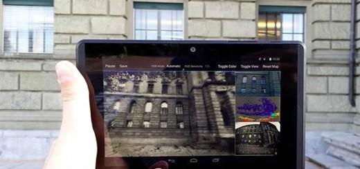 ETH Zurigo Mapping con tablet Tango
