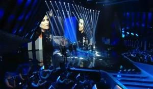 Laura Pausini su Ledwall