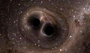 Due buchi neri in avvicinamento