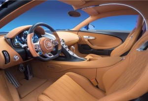 Interni Bugatti Chiron