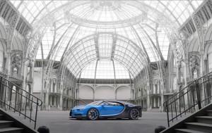 Linee Bugatti Chiron