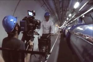 Riprese video nei tunnel CERN