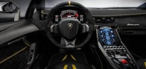 Volante e cruscotto Lamborghini Centenario