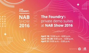 The Foundry demo al NAB
