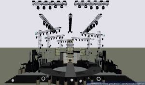 Rendering palco 2D Wysiwyg