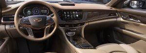 Cadillac CT6 berlina interni